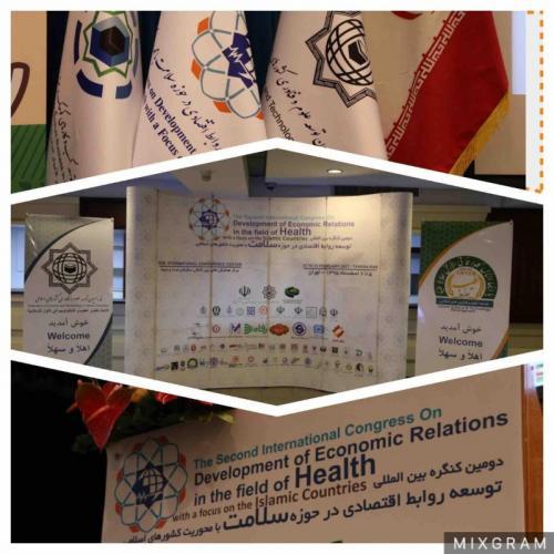 کنگره توسعه روابط اقتصادی در حوزه سلامت کشورهای اسلامی(سومین دوره)